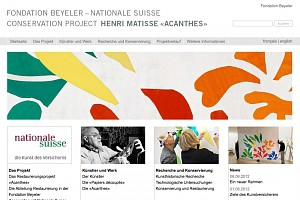 Fondation Beyeler / National Swiss - Conservation Project