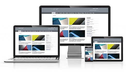 responsive Design einer Website