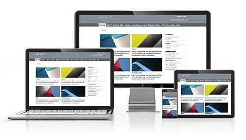 responsive Design einer Website